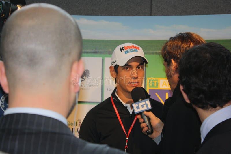 matteo Βερόνα manassero γκολφ του 2011 δί&kappa στοκ εικόνες με δικαίωμα ελεύθερης χρήσης