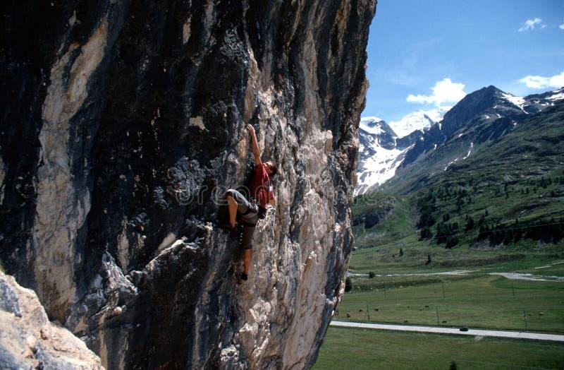 Matteo climber 2 stock photos