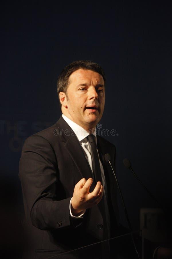 Matteo Renzi fotografia de stock