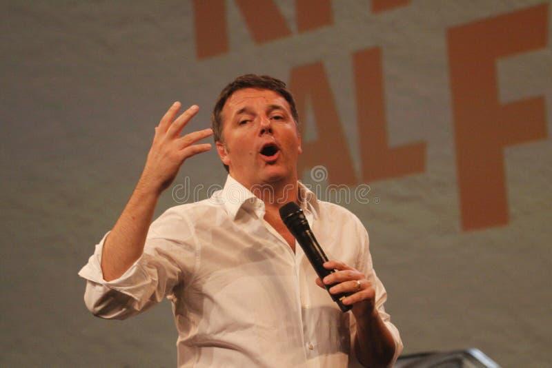 Matteo Renzi стоковые фото