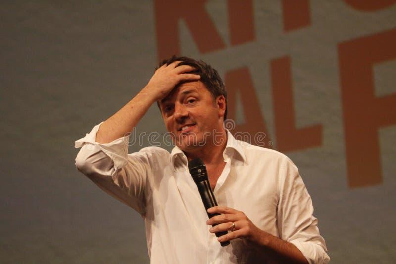 Matteo Renzi стоковая фотография