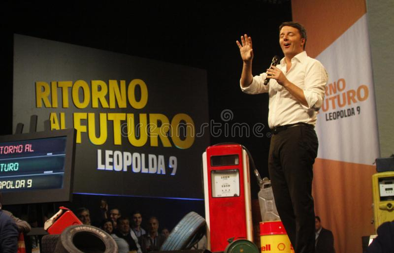 Matteo Renzi стоковая фотография rf