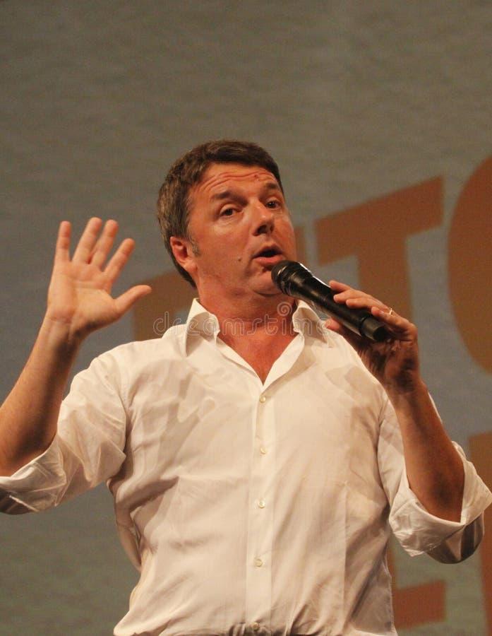Matteo Renzi стоковые изображения