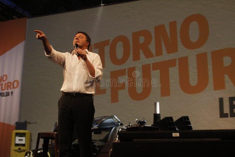 Matteo Renzi стоковое изображение