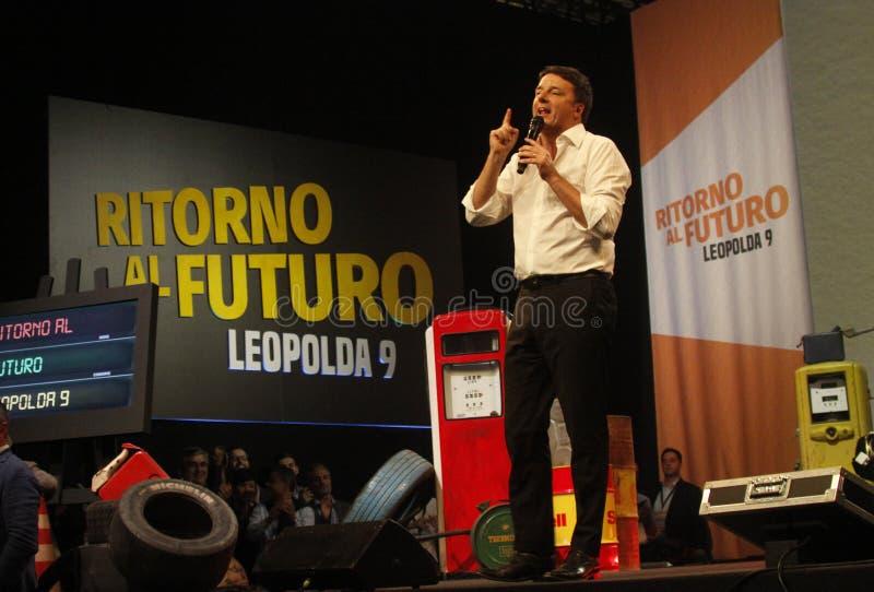 Matteo Renzi стоковое фото