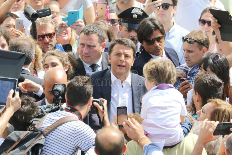 Matteo Renzi стоковые фотографии rf