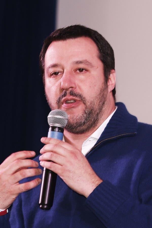 Matteo Salvini arkivfoto
