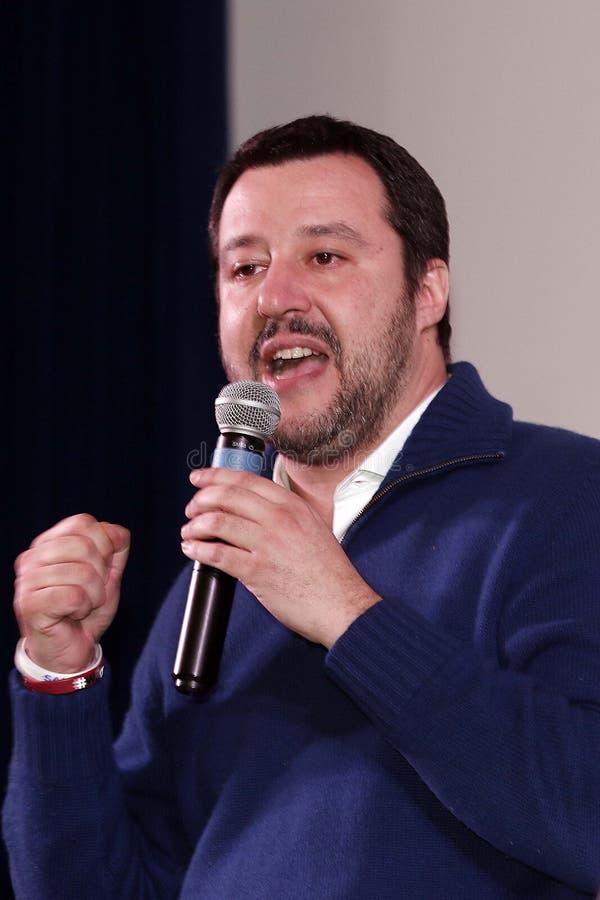 Matteo Salvini arkivbild