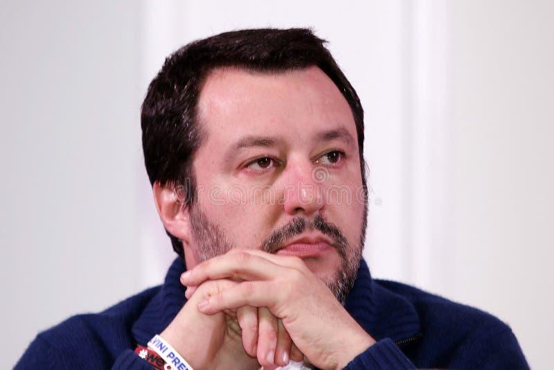 Matteo Salvini arkivfoton