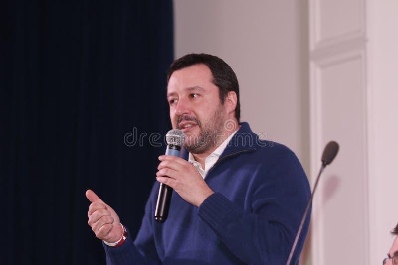 Matteo Salvini royaltyfri foto
