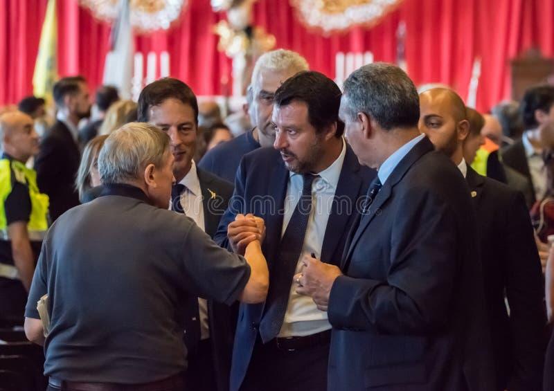 Matteo Salvini, Italy stock photo