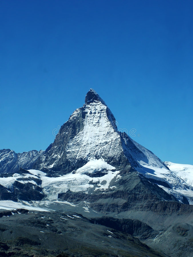 Download Matterhorn imagem de stock. Imagem de europa, alpine, marco - 114849
