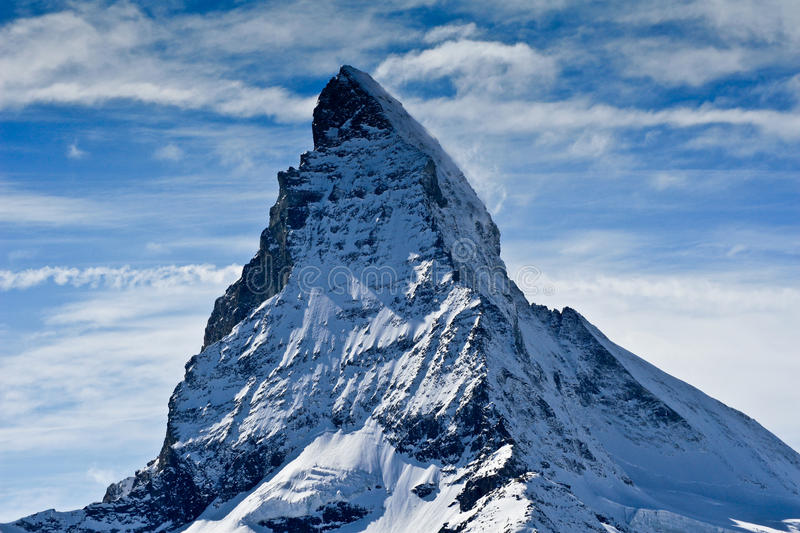 Download Matterhorn stock photo. Image of extreme, frozen, cloud - 14261224