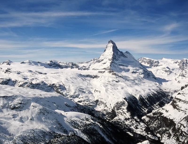 Matterhorn royalty-vrije stock fotografie