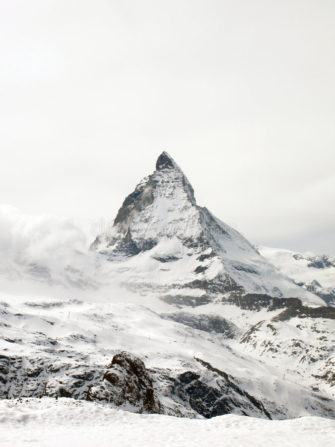 Matterhorn 2, Switzerland Royalty Free Stock Photos