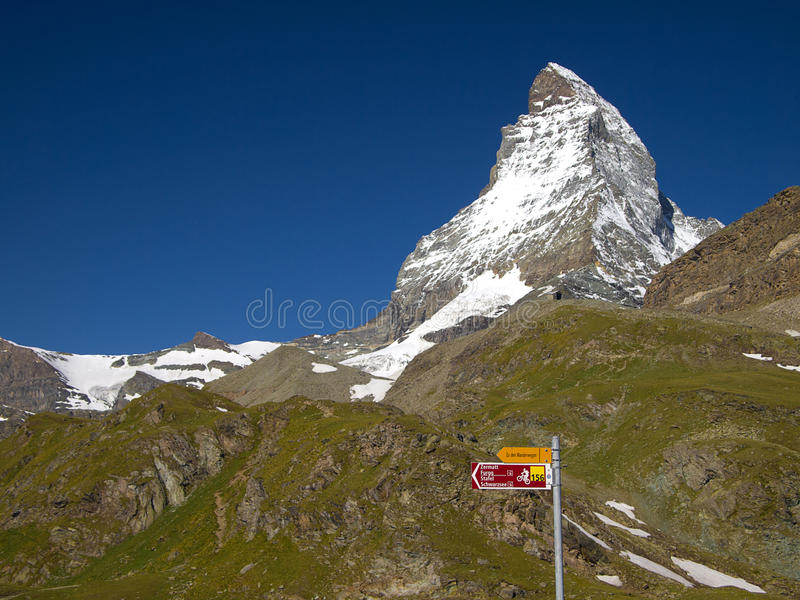 Download Matterhorn stock image. Image of outdoor, snowcapped - 24488159
