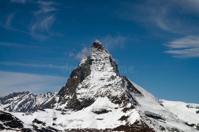 Download Matterhorn stock photo. Image of blue, cliffs, matterhorn - 26083574