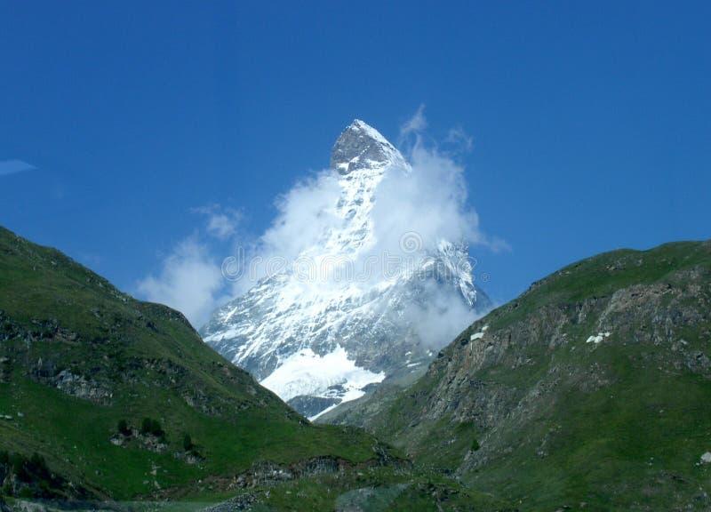 Matterhorn immagine stock libera da diritti