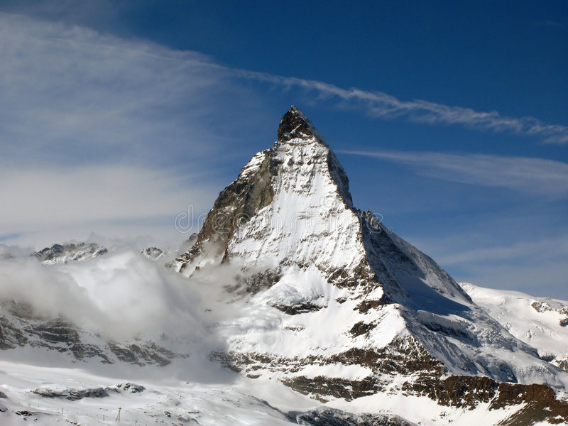 Matterhorn 3, Suisse images stock