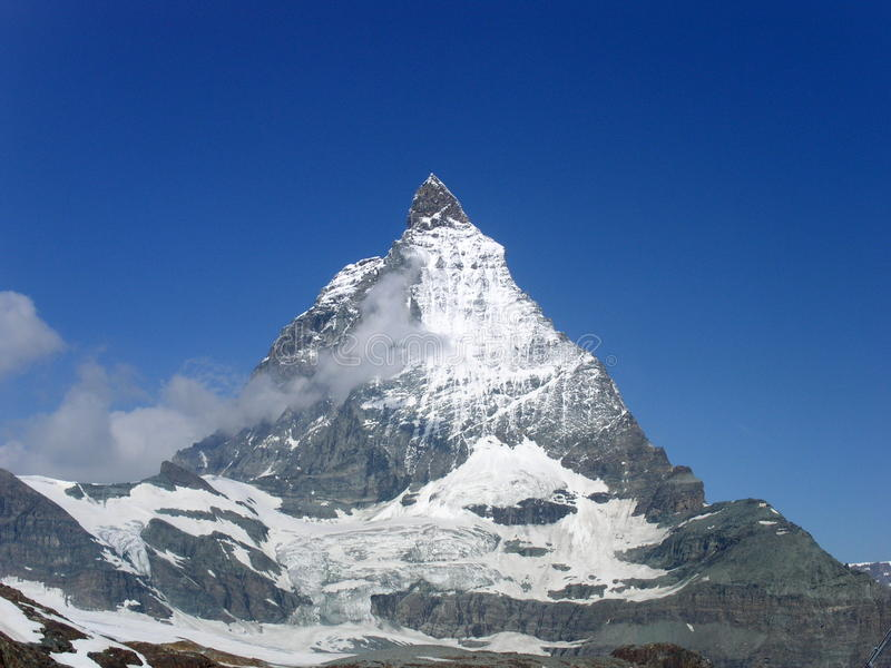 Matterhorn do sudeste fotografia de stock royalty free