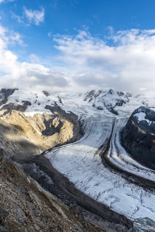 matterhorn glaciärparadis royaltyfria bilder