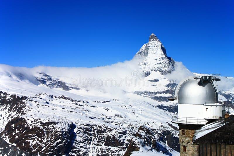 Download Matterhorn And Gornergrat Observation Tower Stock Image - Image: 19677563