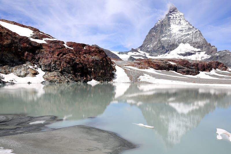 Matterhorn. La Suisse. images stock