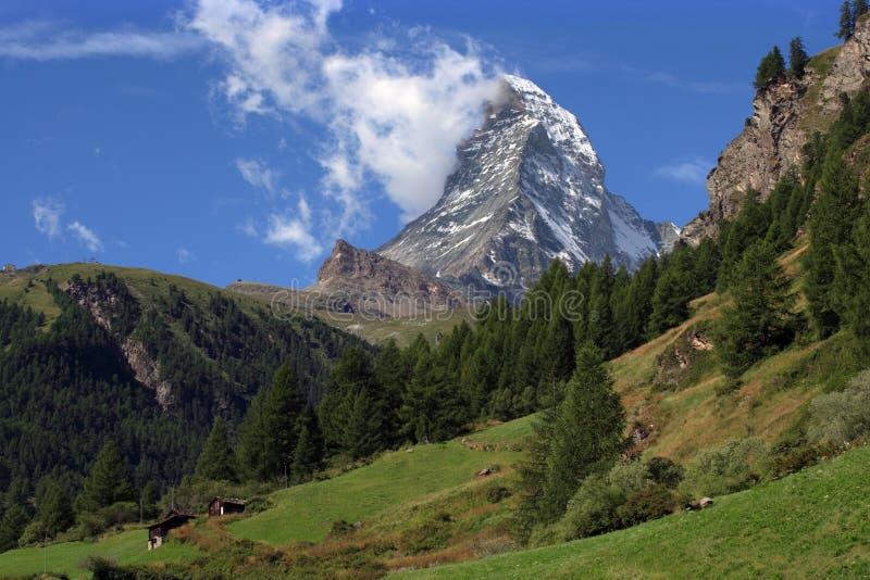 Matterhorn landscape stock images
