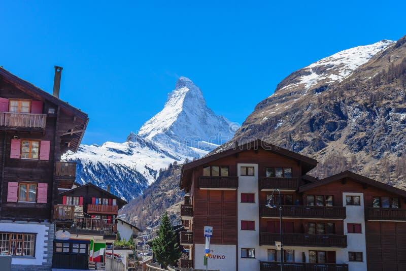 Matterhorn maximum royaltyfri fotografi