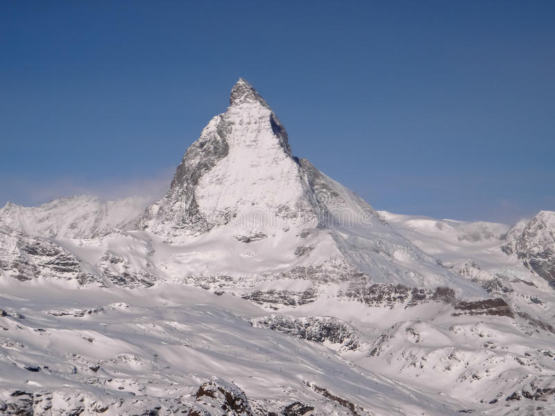 Matterhorn Mountain royalty free stock photo