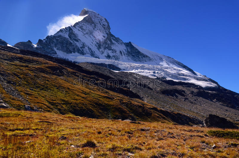 Matterhorn Mountain, Switzerland royalty free stock photos