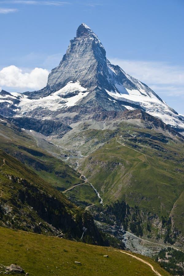 Download Matterhorn Mountain In Zermatt, Switzerland Stock Image - Image: 10540517