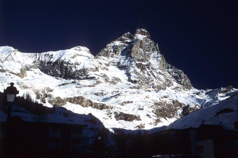 Matterhorn Mountaine Lizenzfreies Stockbild