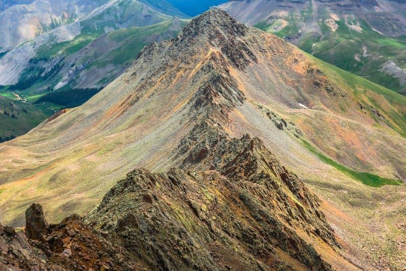 Matterhorn Peak Ridge stock image