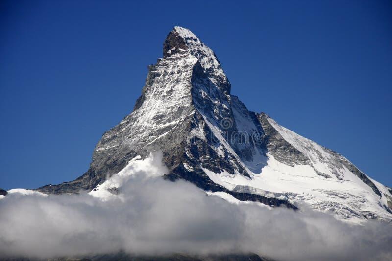 Matterhorn, Schweizer Alpen, die Schweiz stockfotografie