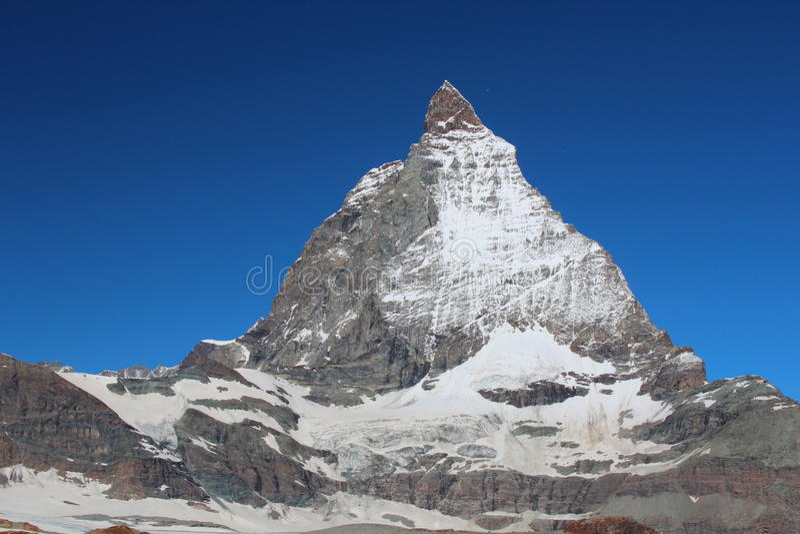 Matterhorn Summit Royalty Free Stock Images