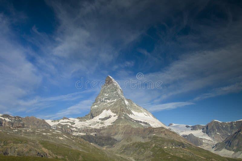 Matterhorn sunrise royalty free stock photography