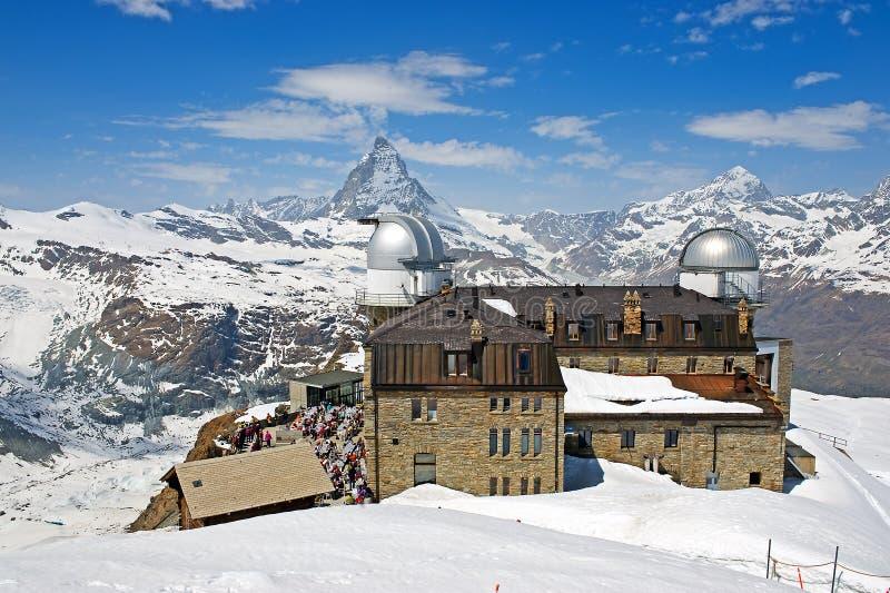 Matterhorn in Sunshine stock photography