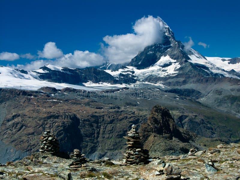 Matterhorn in Switzerland royalty free stock photo