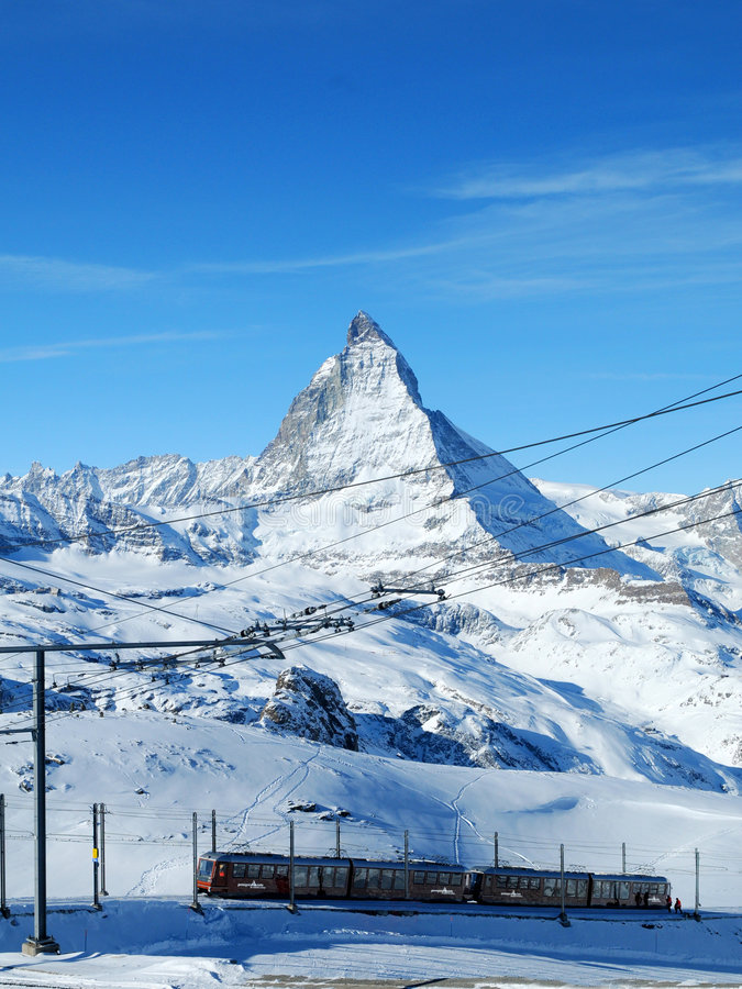 Matterhorn, Switzerland foto de stock royalty free