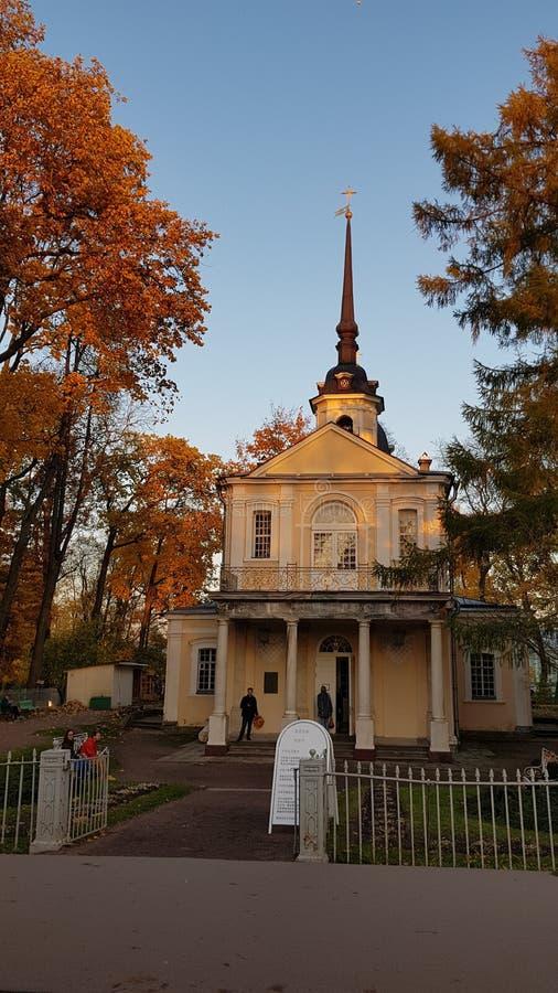 Mattery的圣约翰教会  库存照片