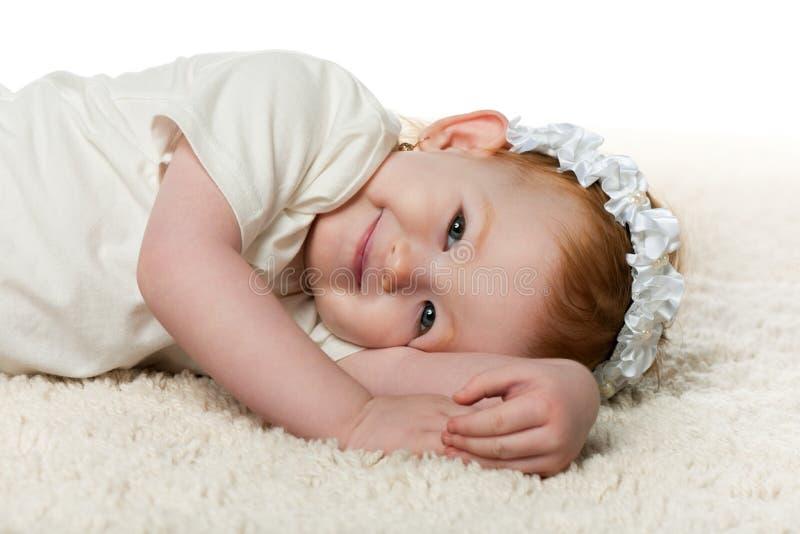mattflicka little redhead fotografering för bildbyråer