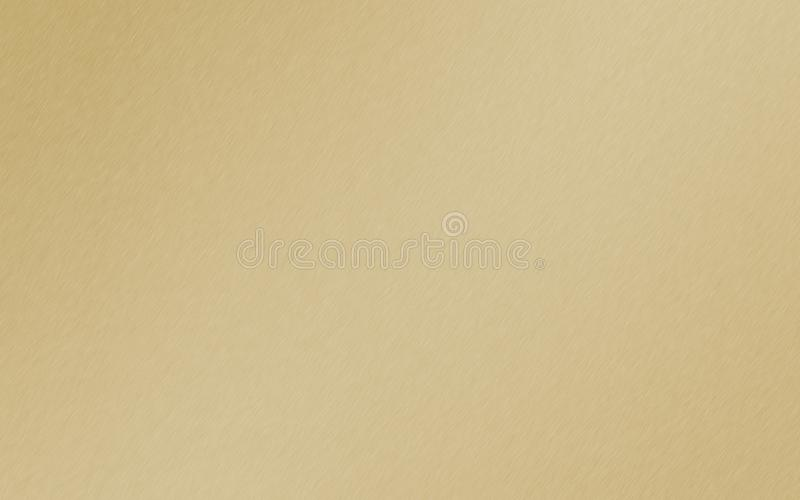 Mattgold, goldener Metallsteigungshintergrund vektor abbildung