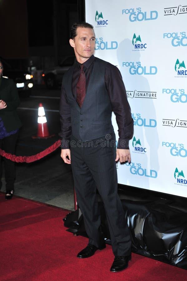 Matthew McConaughey foto de stock