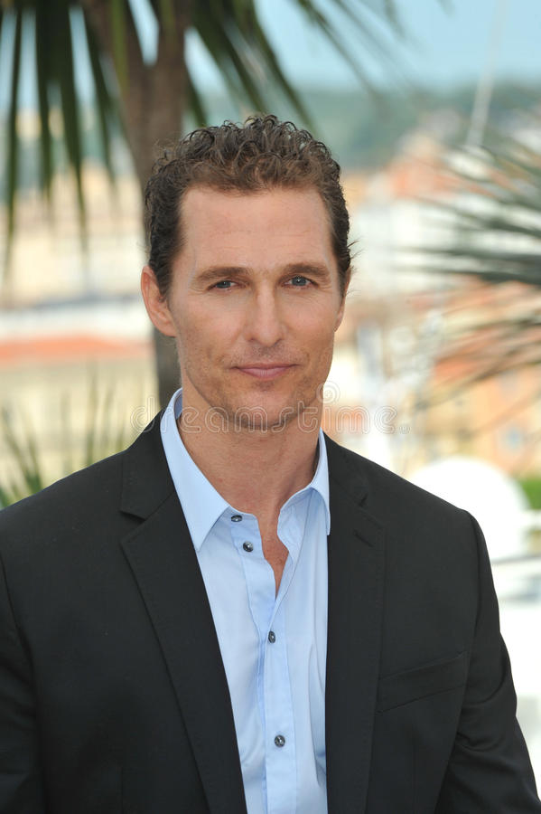 Matthew McConaughey royalty free stock images