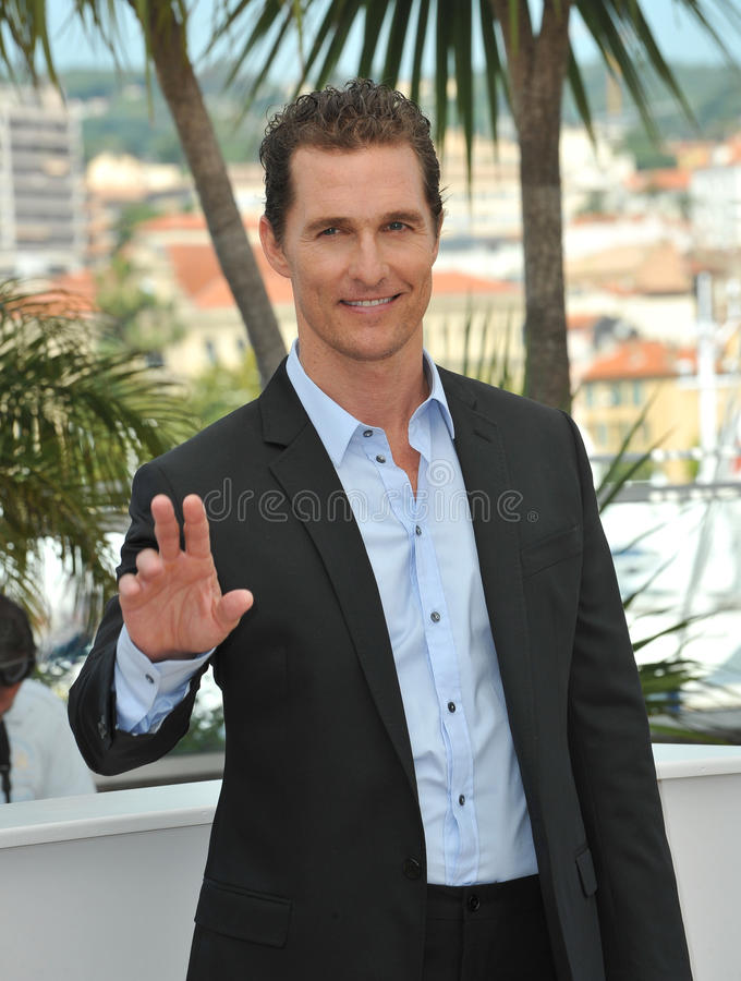 Matthew Mcconaughey photographie stock