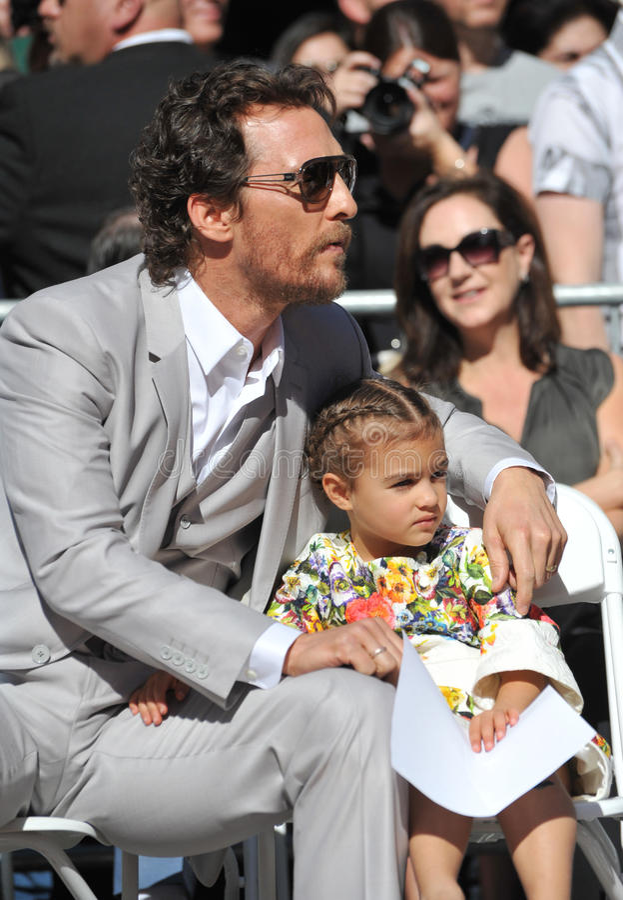 Matthew McConaughey stockfotografie