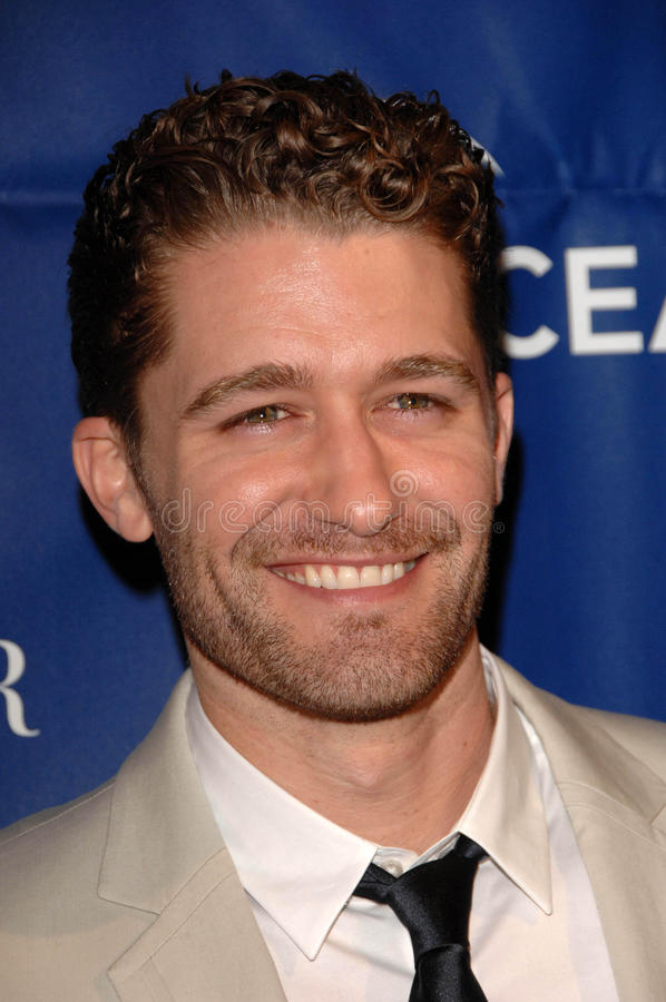 Download Matthew Morrison redaktionelles stockbild. Bild von privat - 26355539