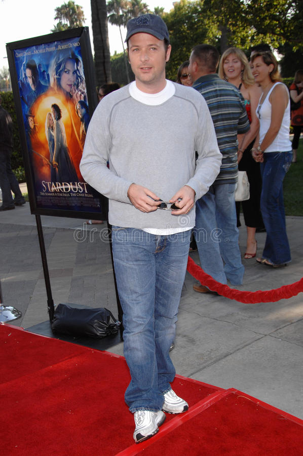 Matthew Vaughn. Director Matthew Vaughn at the Los Angeles premiere of Stardust at Paramount Studios, Hollywood. July 30, 2007 Los Angeles, CA Picture: Paul royalty free stock image