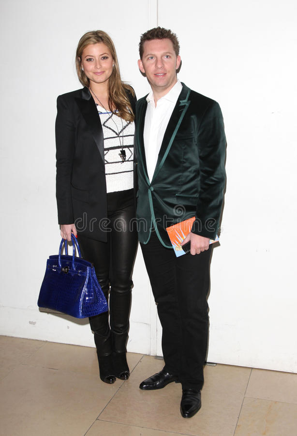 Matthew Williamson, Holly Valance, Henry Harris Editorial Photo